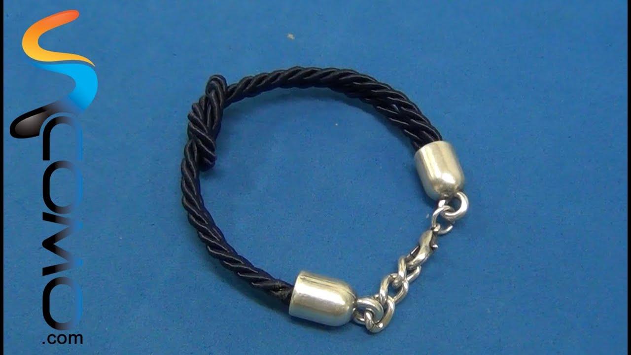 Pulsera de nudo marinero sencillo viyoutube - Nudos marineros para pulseras ...