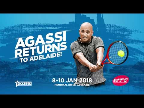 Andre Agassi smashes your questions  WTC 2018