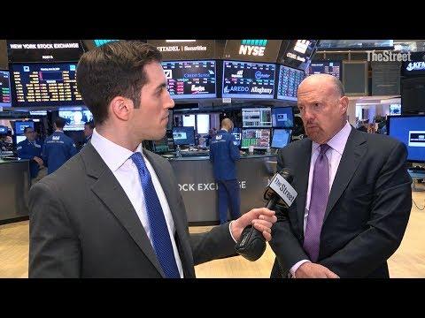 Jim Cramer Talks General Electric, Apple, Tesla, Amazon, Nvidia, Adobe, Western Digital and Uber