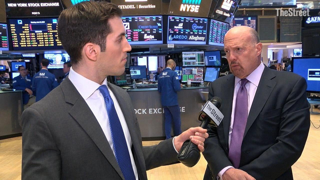 Jim Cramer Talks General Electric, Apple, Tesla, Amazon ...