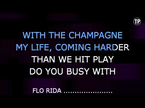 Wild Ones - Flo Rida feat. Sia | Karaoke LYRICS