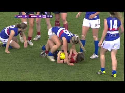 Western Bulldogs v Melbourne (Second Ever Women's Match) - June 29, 2014