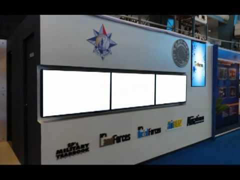 Aero India SP booth.mpg