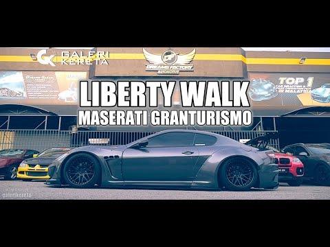 Maserati GT Liberty Walk - 1st in Malaysia