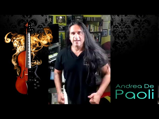 New Album Featured Artist - Keyboardist Andrea De Paoli