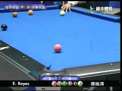Efren Reyes vs Chin Ching Kang