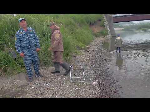 Рыбалка в устье Сахалин Макаров