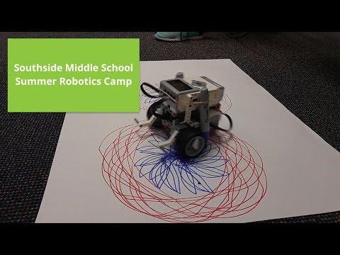 Southside Middle School Summer Robotics Camp Highlights