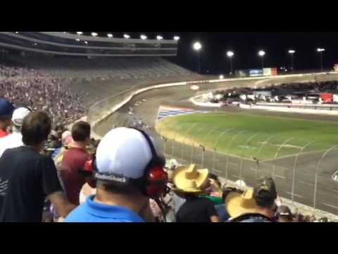 The last wreck at Texas Motor Speedway. (Indy Car 2017)