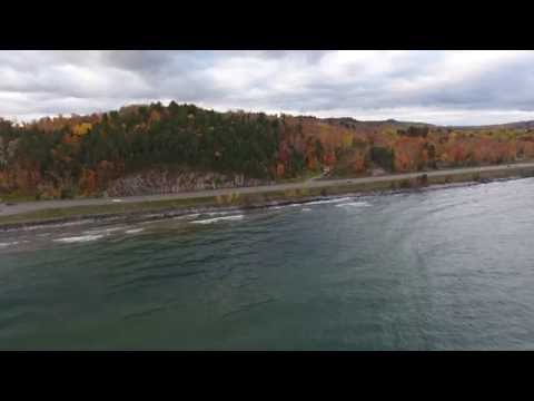 Lake Superior East of Marquette Michigan October 2016