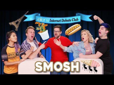 Smosh Faces Off in 'Ellen's Internet Debate Club'