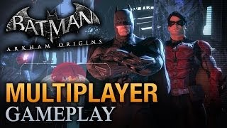 Video Batman: Arkham Origins - Multiplayer Gameplay #1 download MP3, 3GP, MP4, WEBM, AVI, FLV Juli 2018