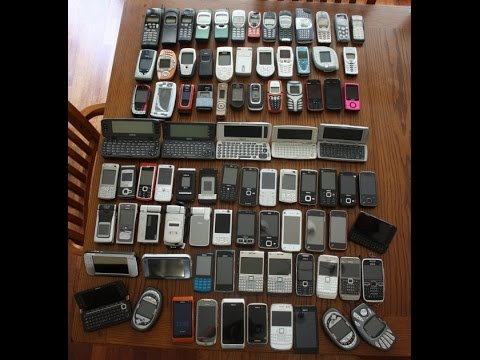 Моя коллекция телефонов Nokia