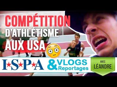 COMPET d'athlétisme aux #USA - Vlog #6 - Léandre avec ISPA
