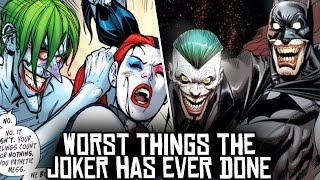 10 Worst Things The Joker Has Ever Done!