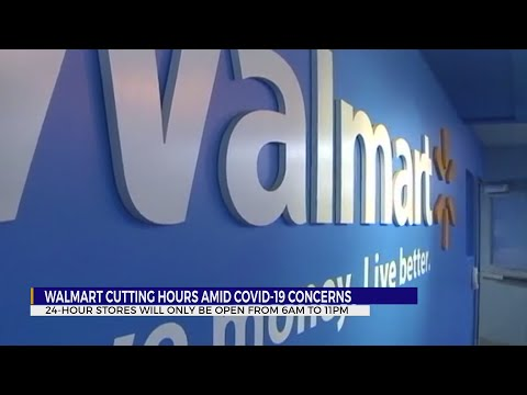 Wal-Mart Cuts Hours