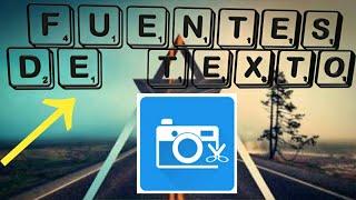 MEGA Pack De Fuentes De Texto Para Photo Editor (Android) - El New Tutoriales