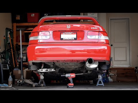 STRONGER & LIGHTER Lower Control Arm Upgrade | Honda Civic Project