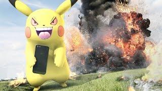 【実写ポケモンGO戦争】もしもミュウが現れたら?壮絶な奪い合いバトル 【RATE先生】Pokemon Go In real life thumbnail