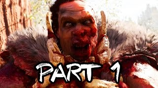 Far Cry Primal Gameplay Walkthrough Part 1 - Intro/Mission 1 FULL GAME!! 2 HOURS!! (PS4 1080p HD)