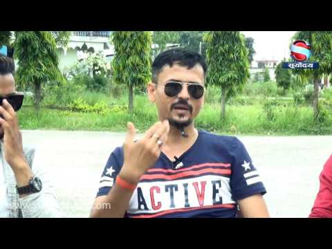 Nepali Artist on contemporary talk with  Dipen Bhetwal on Countdown Weekly