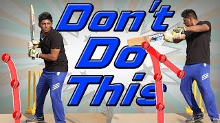 Don't Do This | Episode 1 | Cut Flaw | Nothing But Cricket
