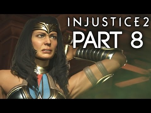 """Injustice 2 - Let's Play (Story) - Part 8 - [Wonder Woman] - """"Goddess Of War"""""""