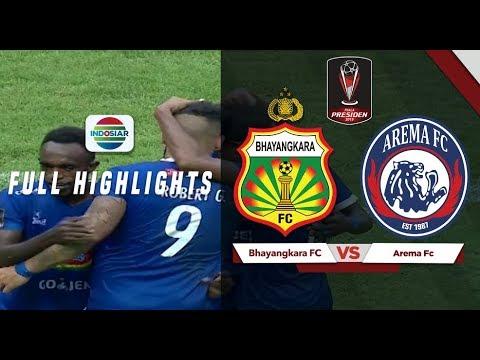 Bhayangkara FC (0) vs (4) Arema FC - Full Highlight | Piala Presiden 2019