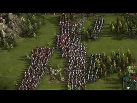 Cossacks 3 - European war on River's map  