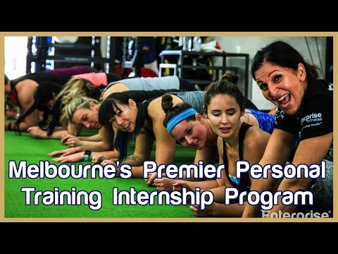 Melbourne's Premier Personal Training Internship Program