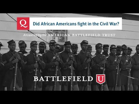 Did African Americans Fight In The Civil War?