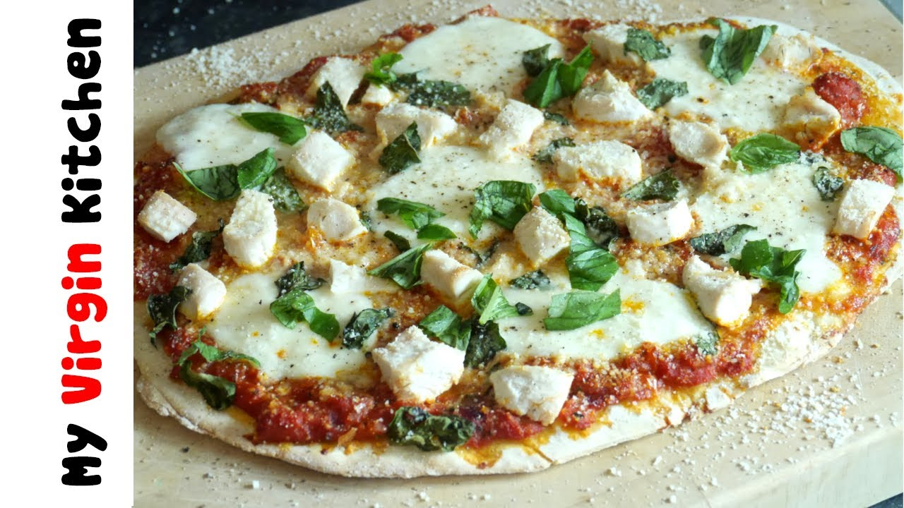 Chicken Parmesan Pizza Recipe Youtube