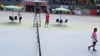 Pertandingan Tennis Outdoor Lap. 8