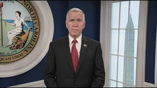Senator Thom Tillis Gives an Update on Coronovirus