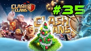 Clash Of Clans #35 - CHRISTMAS Update, Christmas Tree, Improved Village Editor - Healer Max
