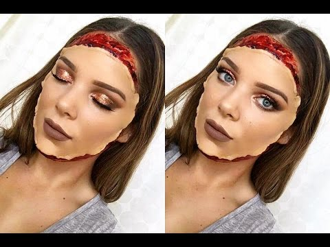 FACE MASK | Halloween Makeup Tutorial