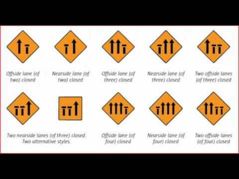 Road Signs And Their Meanings >> road signs - rules of the road / ireland. wmv - YouTube