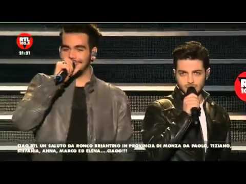 Il Volo in Milan 29-01-2016 RTL 102 5 Part 1