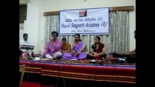 YASHWANTH HALIBANDI - Poorvi Sangeeth Academy