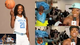 MICHAELA ONYENWERE'S GRANDMA STEALS THE SHOW WITH DANCE AS MICHAELA GETS DRAFTED INTO THE WNBA