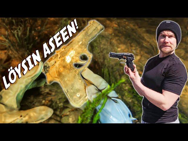 Löydettiin Vedestä Ase! BMA