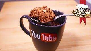 Recette fitness : MugCake brownie