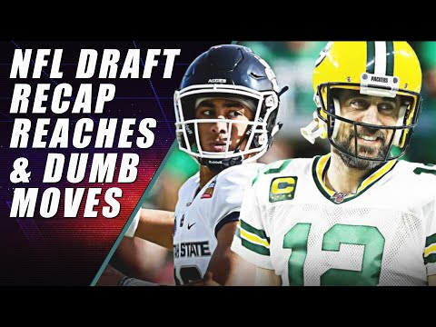 NFL Draft Biggest Surprises, Reaches & Recap