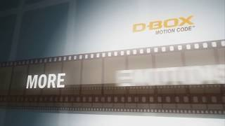 D-BOX theatre video. Live the action. Live the cinema of tomorrow.