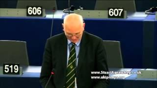 Commission assumes mantel of deity in fund disbursement - Stuart Agnew MEP