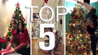 Alberi Di Natale Bellissimi.Alberi Di Natale Vip I Piu Belli Youtube