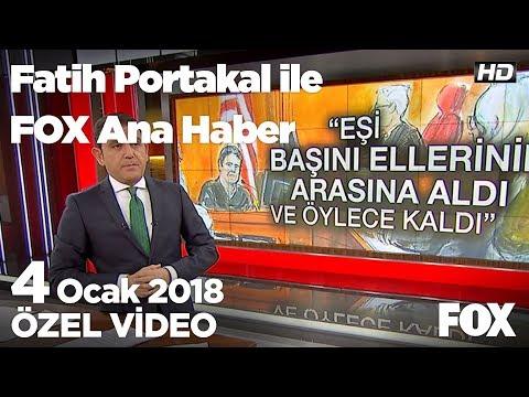 Jüri Hakan Atilla'yı suçlu buldu! 4 Ocak 2018 Fatih Portakal ile FOX Ana Haber