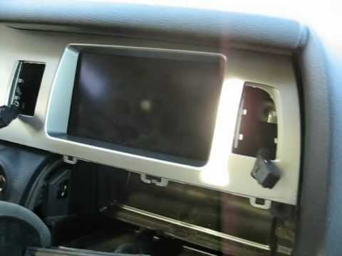 How To Remove Cd Changer Display Speedometer Cluster From 2007 Audi Q7 For Repair Youtube