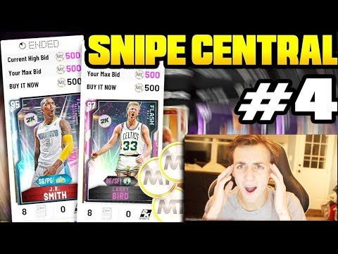 SNIPE CENTRAL #4!! INSANE FLASH 2 SNIPE!! WE MADE TONS OF MT AGAIN! NBA 2K20