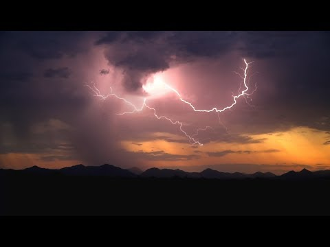 Phoenix, AZ Monsoon Micro-burst Time Lapses With Lightning - 7/8/2017